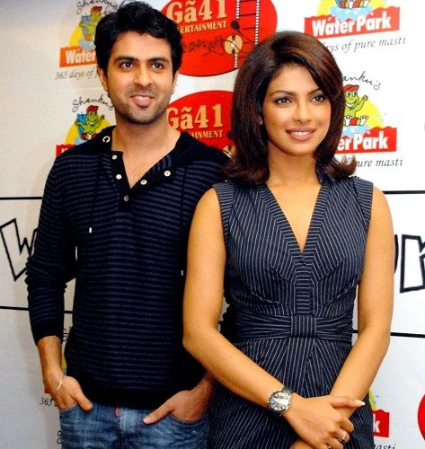 Priyanka Chopra with Harman Baweja