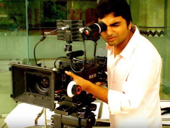 Ravi Shankar Alok working as a screenwriter and assistant director