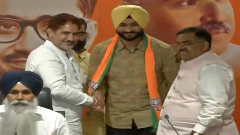 Sandeep Singh Joining the BJP