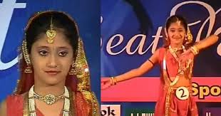 Shivangi Joshi during her school days