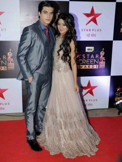 Shivangi Joshi with Mohsin Khan