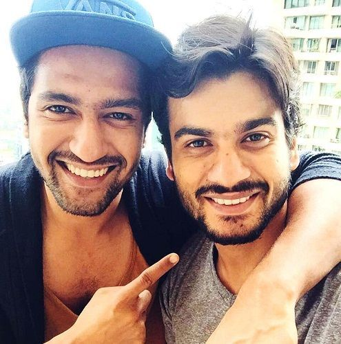 Sunny Kaushal With His Brother Vicky Kaushal