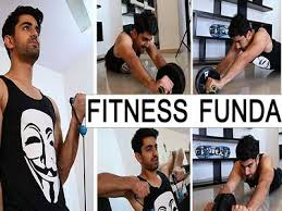 Zain Imam during his workout