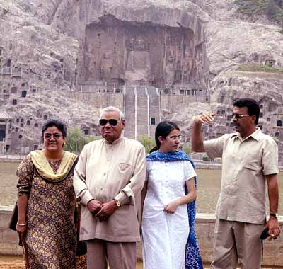 Atal Bihari Vajpayee, Namita (Left) and Family
