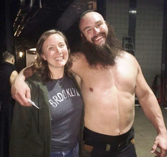 Braun Strowman With His Sister