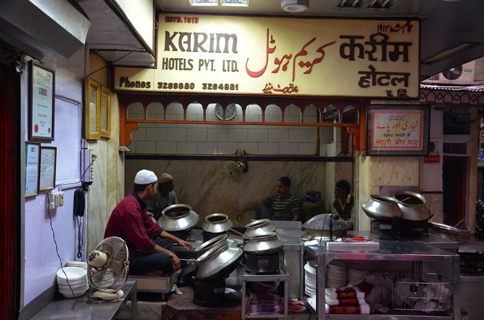 Karim Restaurant in Old Delhi