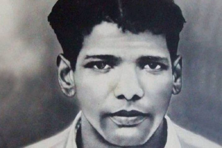 Karunanidhi as a young