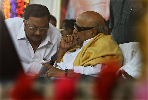 Karunanidhi curruption allegations