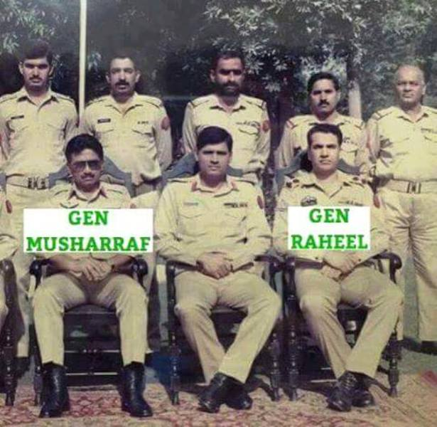 Pervez-Musharraf-Initial-Army-Days