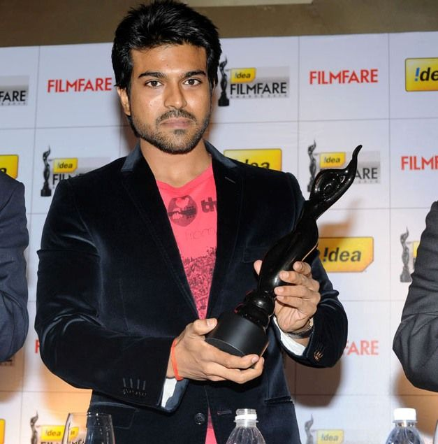 Ram Charan with his award