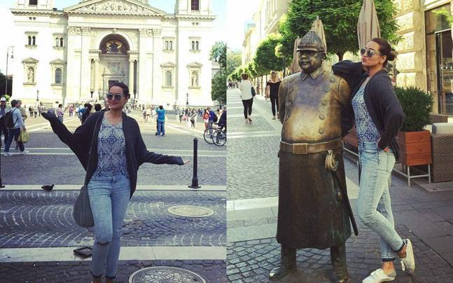 Sonakshi Sinha enjoying her holidays in London