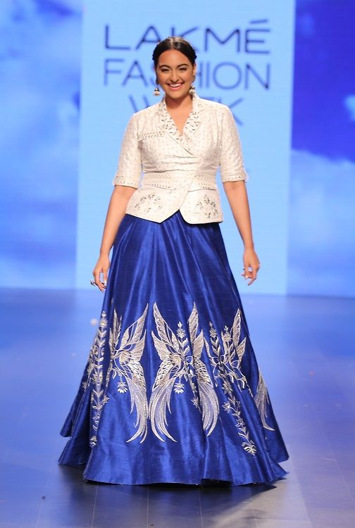 Sonakshi Sinha in Lakme Fashion Week
