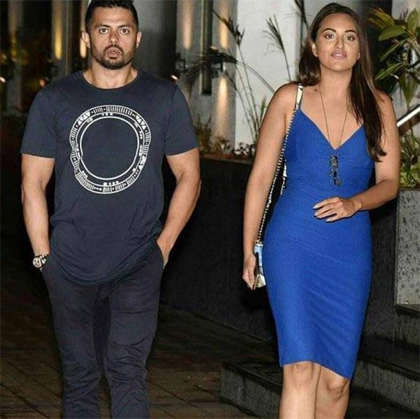 Sonakshi Sinha with her rumoured boyfriend Bunty Sajdeh