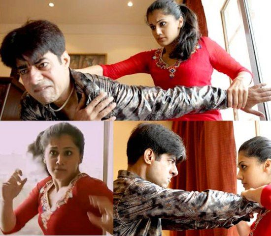 Taapsee Pannu Doing Action Scenes