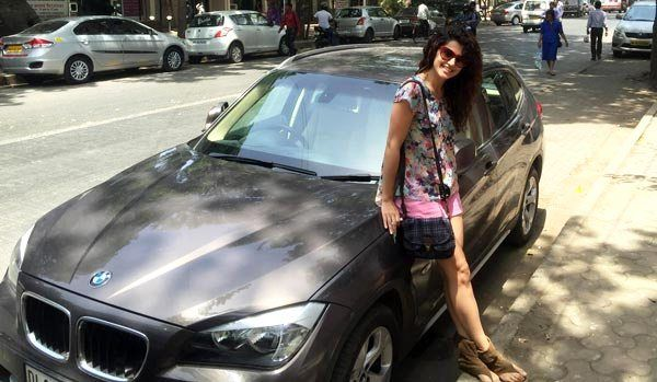Taapsee Pannu BMW
