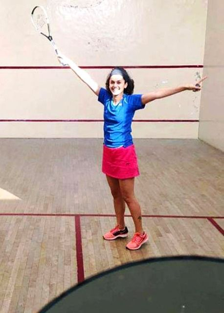 Taapsee Pannu Squash Player