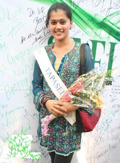 Taapsee Pannu during her initial stage of modelling career