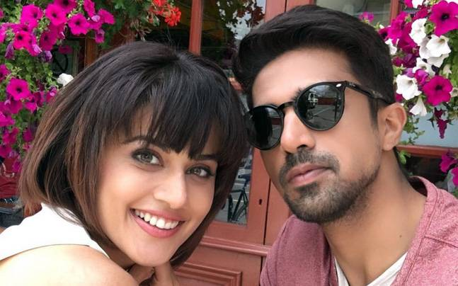 Taapsee Pannu with Saqib Saleem