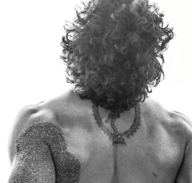 Tushar Kalia's Tattoos on his Back