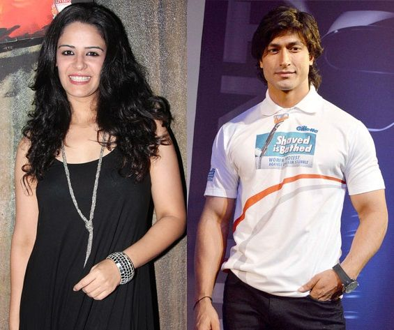 Vidyut Jammwal and his ex-girlfriend Mona Singh