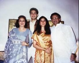 musharraf with family