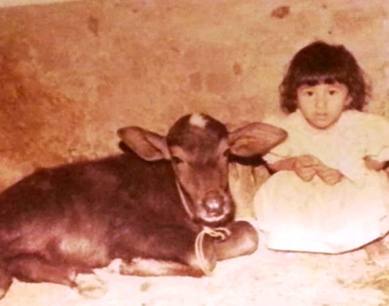 A Childhood Picture of Jasleen Matharu