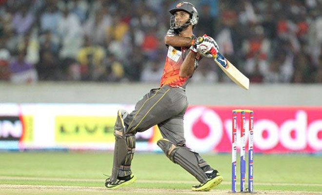 Hanuma Vihari playing for Sunrisers Hyderabad