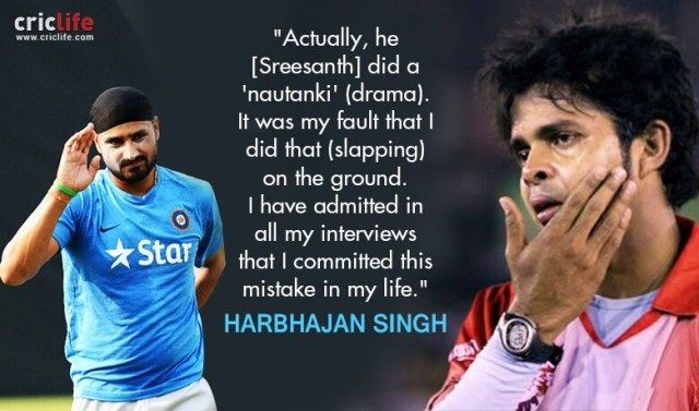 Harbhajan statement after incident
