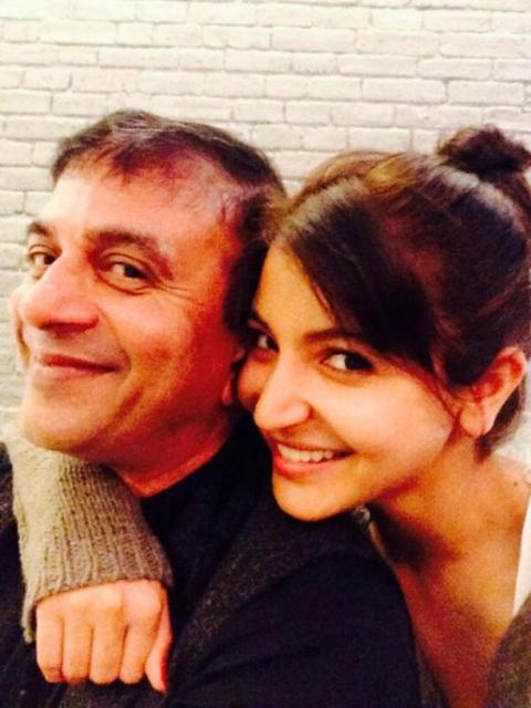 Prasad Bidapa and Anushka Sharma