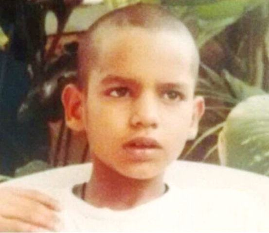 Shikhar Dhawan Childhood Photo