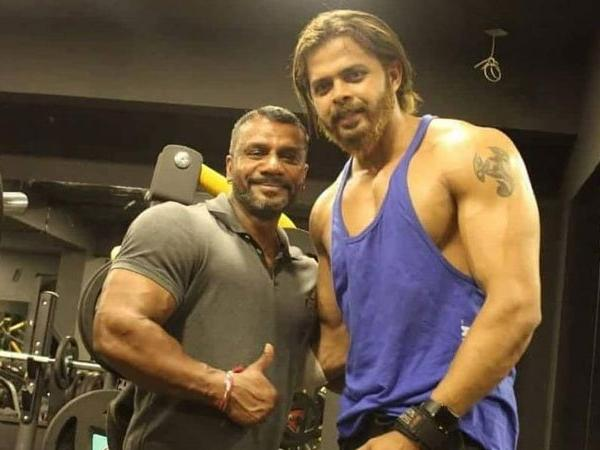 Sreesanth's body transformation