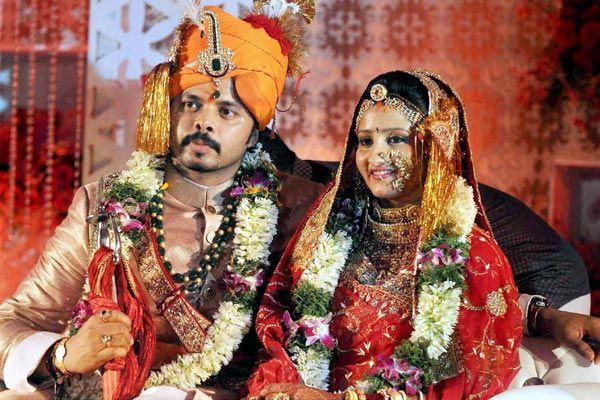 Sreesanth's marriage photo
