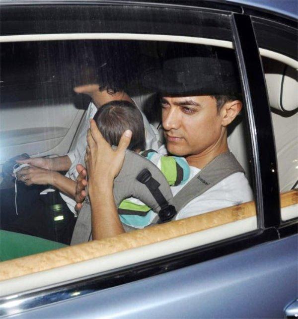 Aamir-Khan In His Car Rolls Royce Ghost