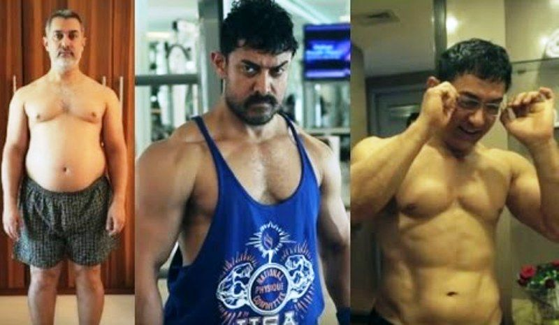 Aamir Khan Weight Transformation