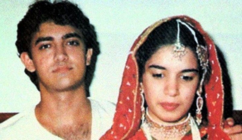 Aamir Khan With His Ex-Wife, Reena Dutta
