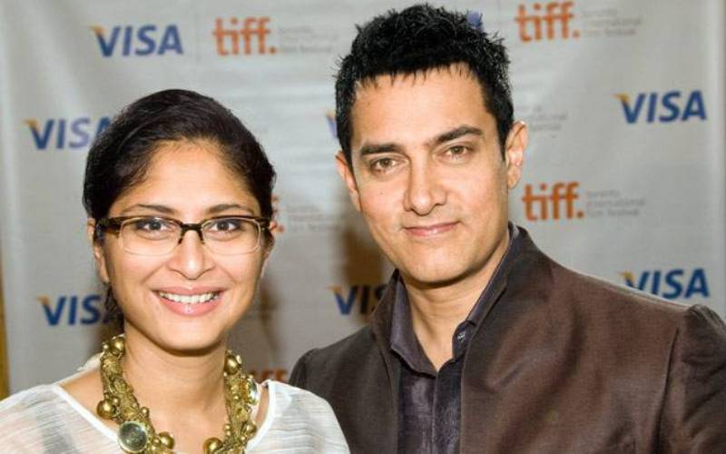 Aamir Khan With His Wife, Kiran Rao