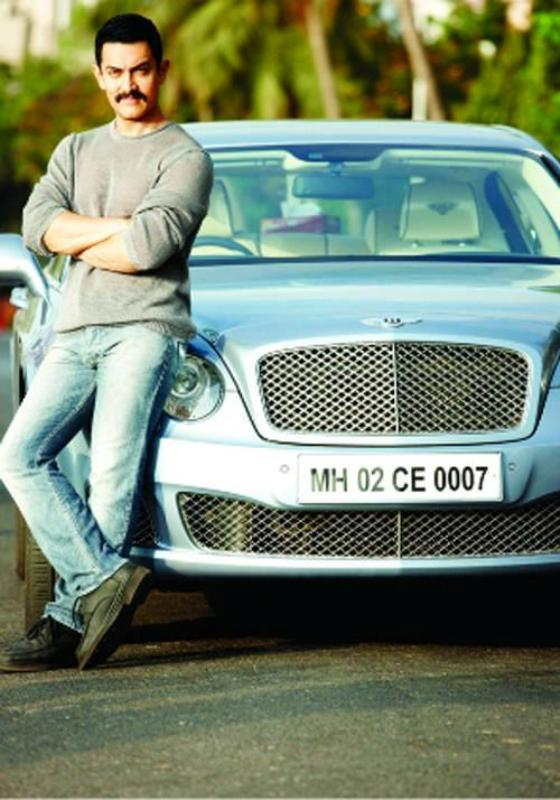 Aamir Khan's Car, Bentley