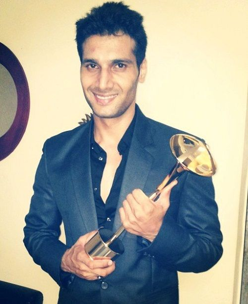 Aham Sharma received Indian Television Academy Award for 'Mahabharat'
