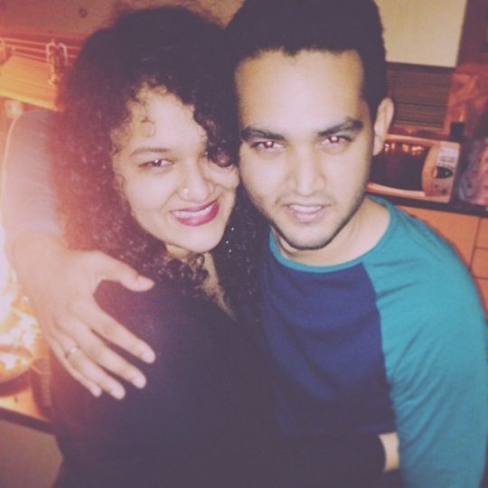 Alok Nath's children Junhai Nath and Shivang Nath