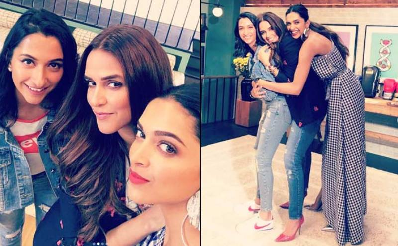 Anisha Padukone with Deepika Padukone in the show, BFF with Vogue