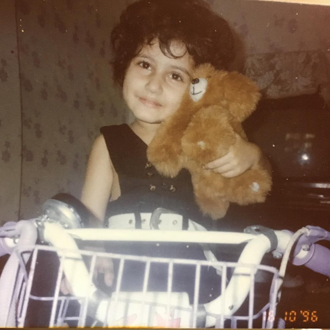 Fatima Sana Shaikh in her Childood