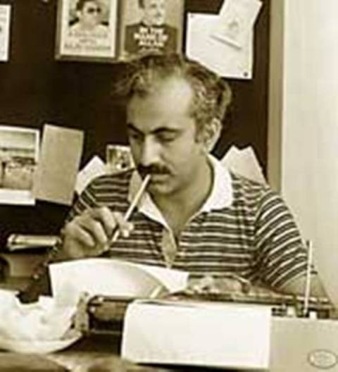 M J Akbar's old Photograph