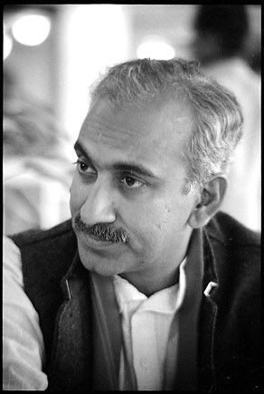M J Akbar's old photo