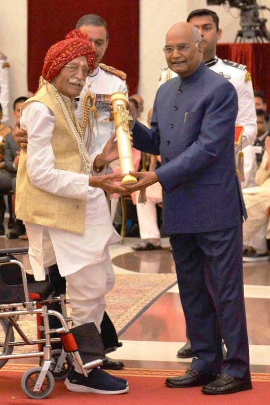 Mahashay Dharampal Gulati Honoured With Padma Shri By Ram Nath Kovind