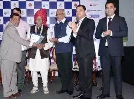 Mahashay Dharampal Gulati was named 'Indian of the Year' at the ABCI Annual Awards