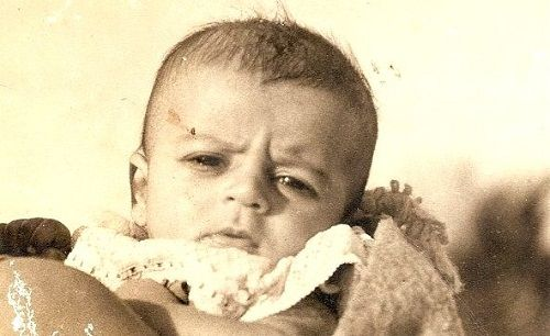 Nitin Bali childhood picture