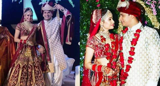 Prince and Yuvika Wedding Picture