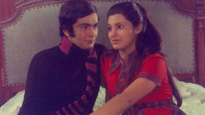 Rishi Kapoor and Dimple Kapadia in Bobby