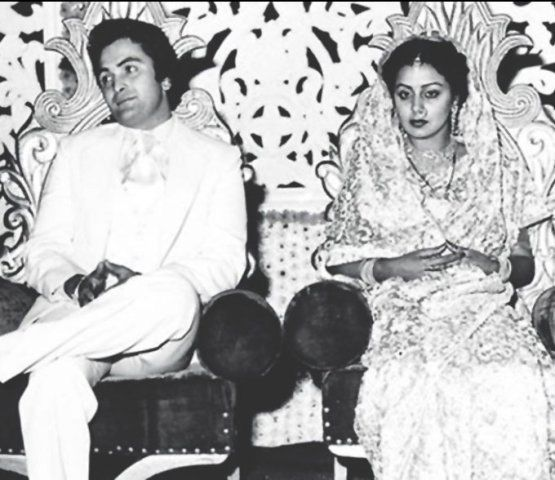 Rishi Kapoor and Neetu Singh Wedding