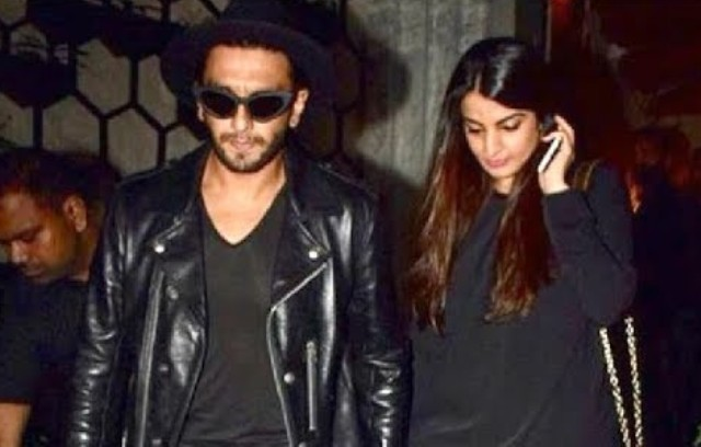 Ritika Bhavnani with her brother Ranveer Singh